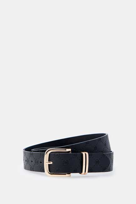 Mohito -  Faux Leather Belt - Black