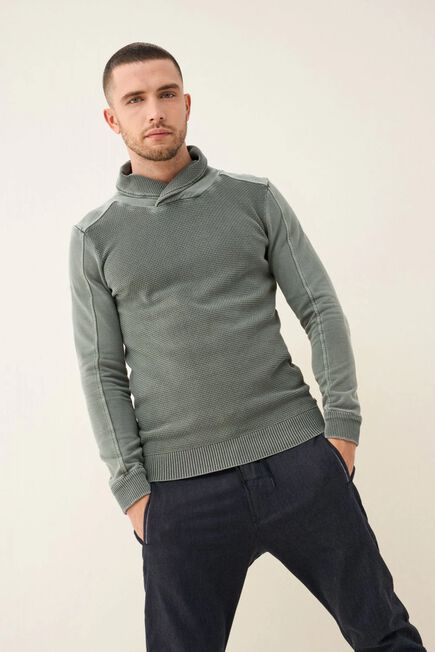 Salsa Jeans - Gray High-neck sweater