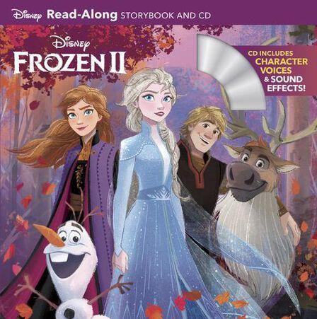 DISNEY PRESS USA - Frozen 2 Read-Along Storybook and CD