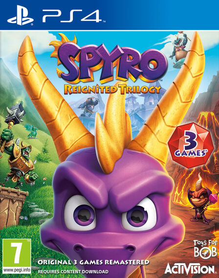 ACTIVISION - Spyro Reignited Trilogy [Pre-owned]