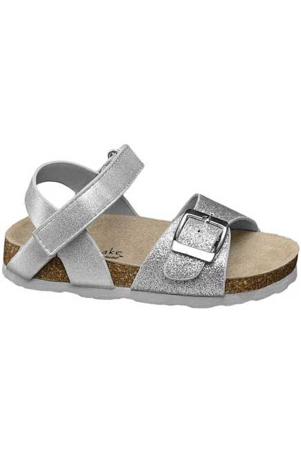 Cake Couture - Silver Sandals, Kids Girl