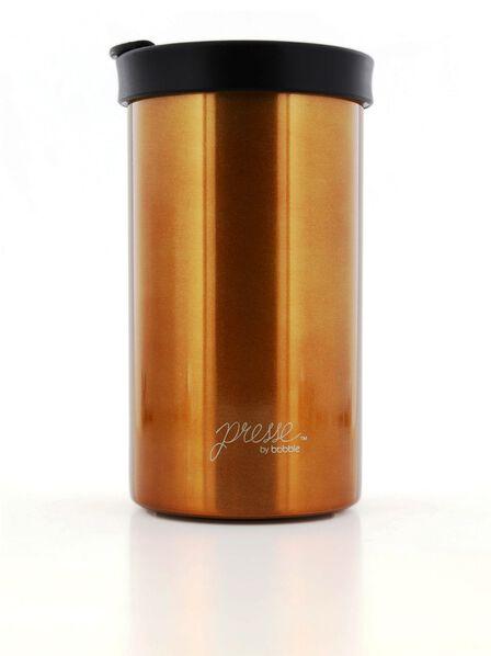 BOBBLE BOTTLES - Bobble Presse Coffee Press with Riser Copper 13oz