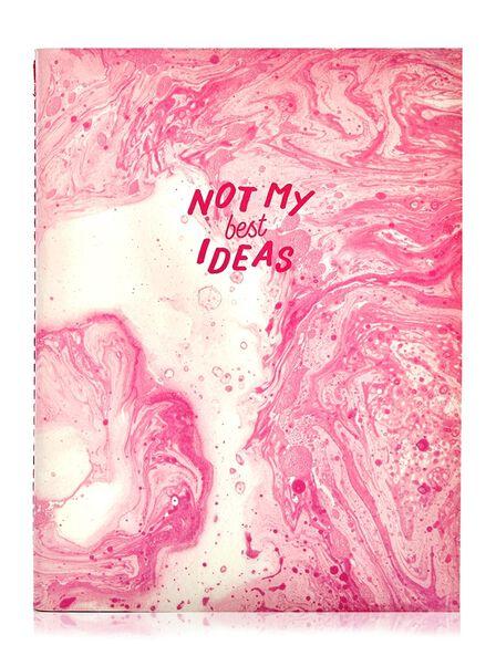 SKINNY DIP - Skinny Dip Marble Notebook Not My Best Ideas