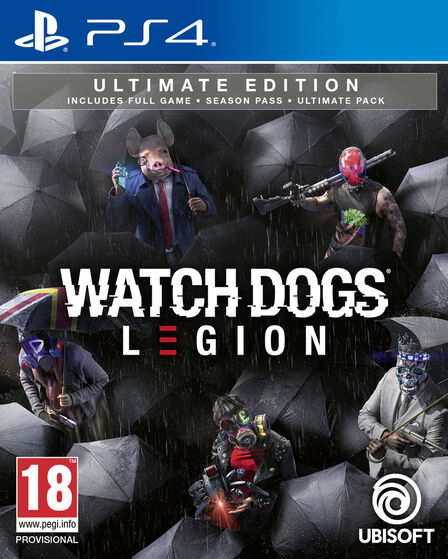 UBISOFT - Watch Dogs Legion - Ultimate Edition - PS4