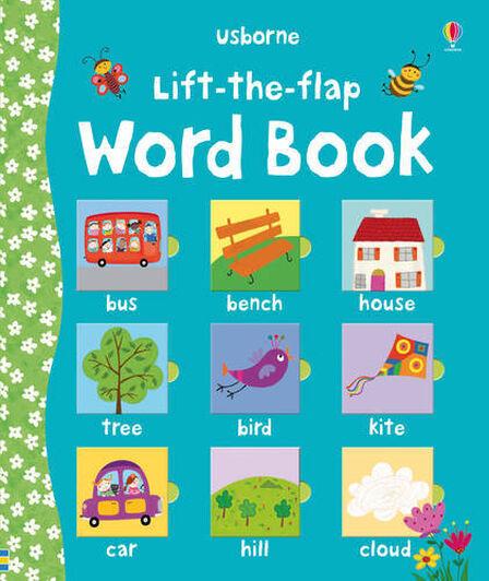 USBORNE PUBLISHING LTD UK - Lift The Flap Word Book