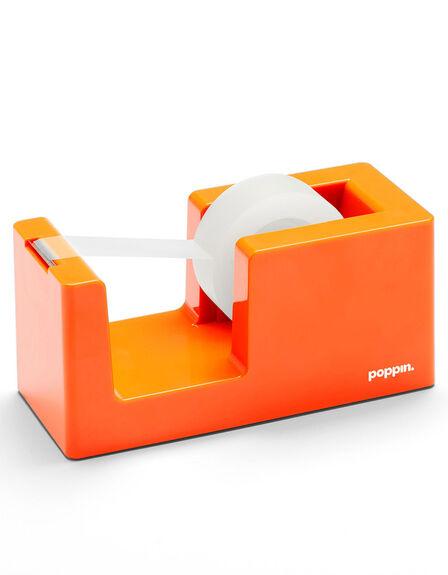 POPPIN INC - Poppin Inc Tape Dispenser & Tape Orange