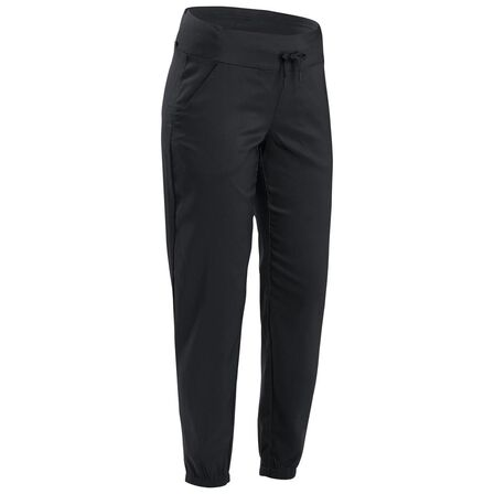 "QUECHUA - W39 L31  Womenأ¢â'¬â""¢s Country Walking Trousers NH100, Black"