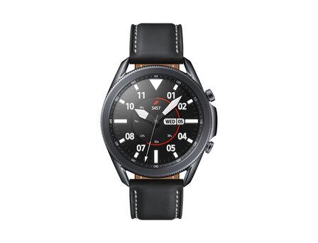 SAMSUNG - Samsung Galaxy Watch 3 SS 45mm Black