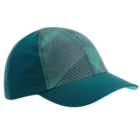 QUECHUA - 7-15Y Kids' Hiking Cap MH100 - Turquoise