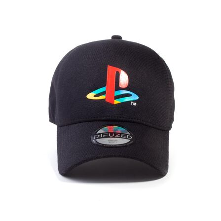 DIFUZED - Playstation Logo Seamless Unisex Cap Black