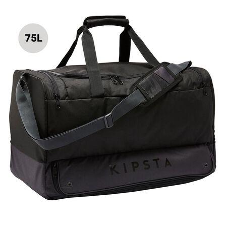 KIPSTA - 75L Hardcase Sports Bag - Black