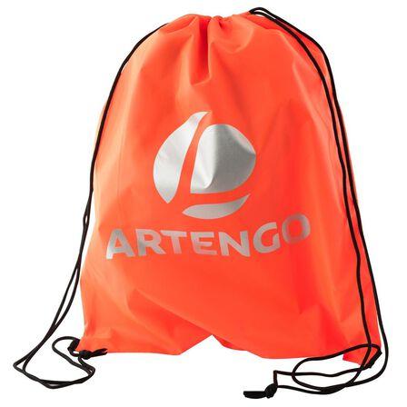 ARTENGO - M Shoe Bag - Fluo Blood Orange