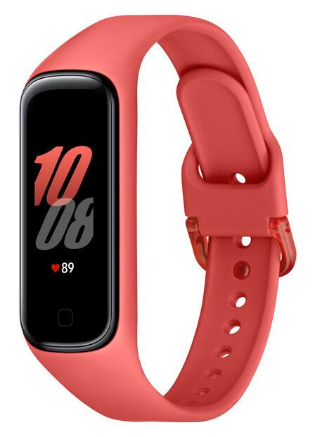 SAMSUNG - Samsung Galaxy Fit2 Activity Tracker Red