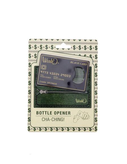 WILD EYE DESIGNS - Credit Card Bottle Opener Black