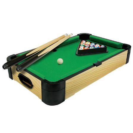 MERCHANT AMBASSADOR - Merchant Ambassador Wood Tabletop Pool 20 Inch 50cm