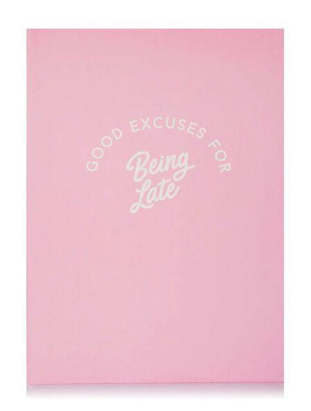 SKINNY DIP - Skinny Dip Notebook Being Late
