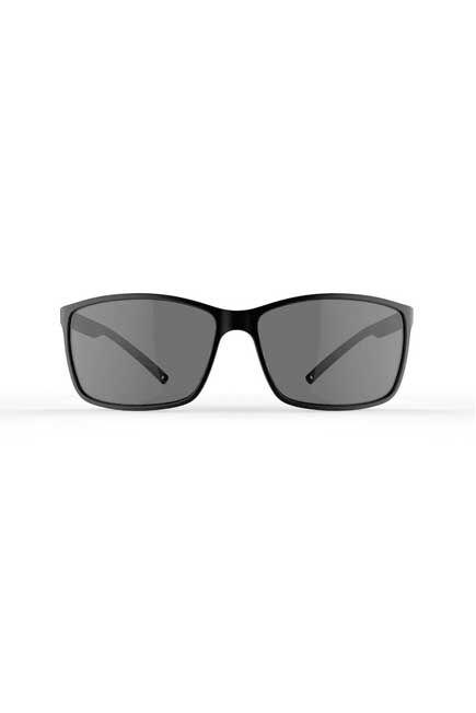 QUECHUA - Unique Size  Adults Category 3 Hiking Sunglasses MH120, Black