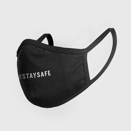 MISTER TEE - Mister Tee Stay Safe Face Mask Black