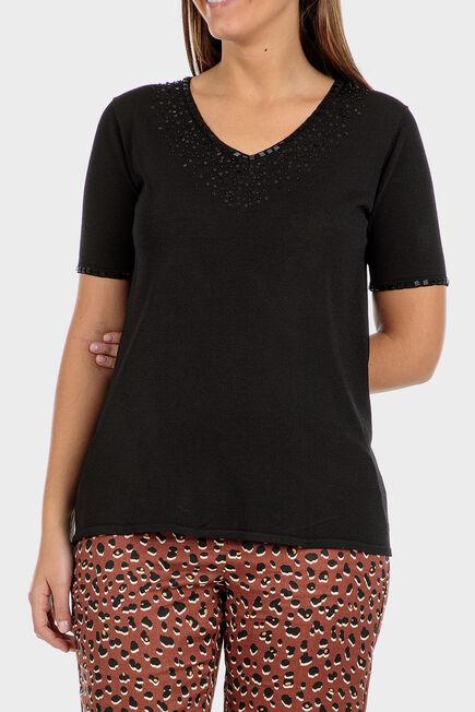 Punt Roma - Black sweater