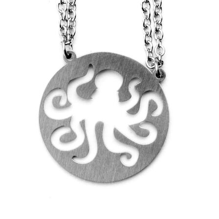 JAECI DESIGNS - Jaeci Octopus Necklace Silver