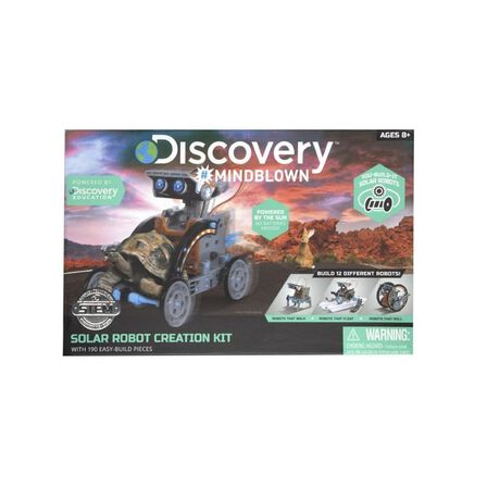 DISCOVERY - Discovery Mindblown Solar Robot Construction Set