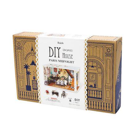 ROBOTIME - Robotime Paris Midnight Dyi Dollhouse Kit