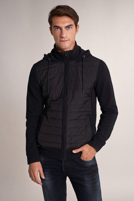 Salsa Jeans - Black Puffer jacket with zip