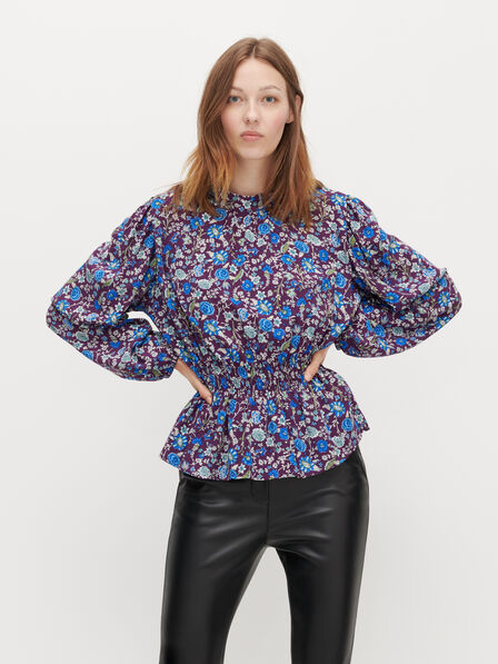 Reserved - Ladies' Blouse - Multicolor