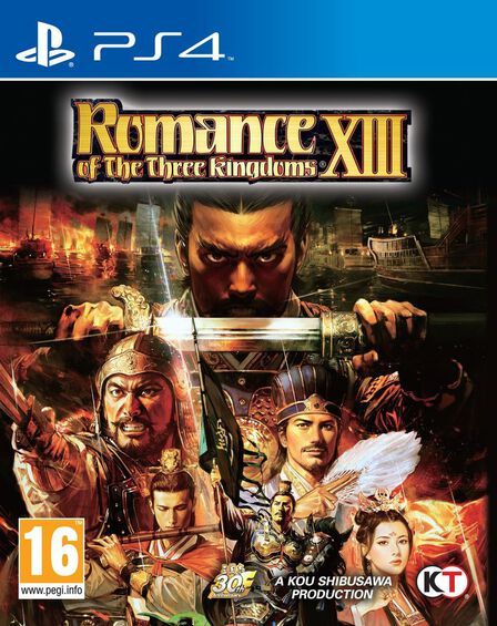 KOEI - Romance of The Three Kingdoms XIII [Pre-owned]