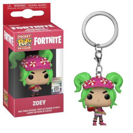 FUNKO TOYS - Funko Pop Games Fortnite S2 Zoey Vinyl Keychain
