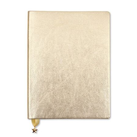 GO STATIONERY - Go Stationery Metallic Light Gold All That Glitters Journal