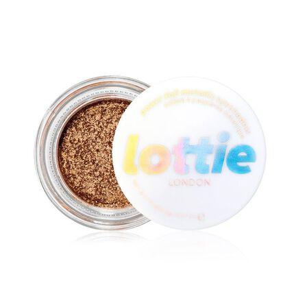 LOTTIE - Lottie Power Foil Golden Hour Eyeshadow Pot Gold