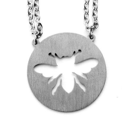 JAECI DESIGNS - Jaeci Honey Bee Necklace Silver