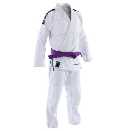 OUTSHOCK - A2 175-185cm  500 Brazilian Jiu-Jitsu Adult Uniform, Snow White
