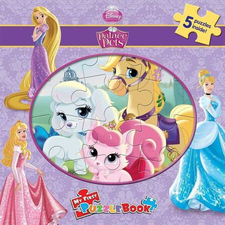 PHIDAL - Disney Palace Pets My First Puzzle Book