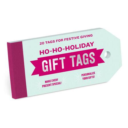 KNOCK KNOCK - Knock Knock Ho-Ho-Holiday Gift Tags Notebook