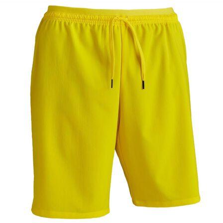 KIPSTA - 2XL  F500 Adult Football Shorts, Sunshine Yellow