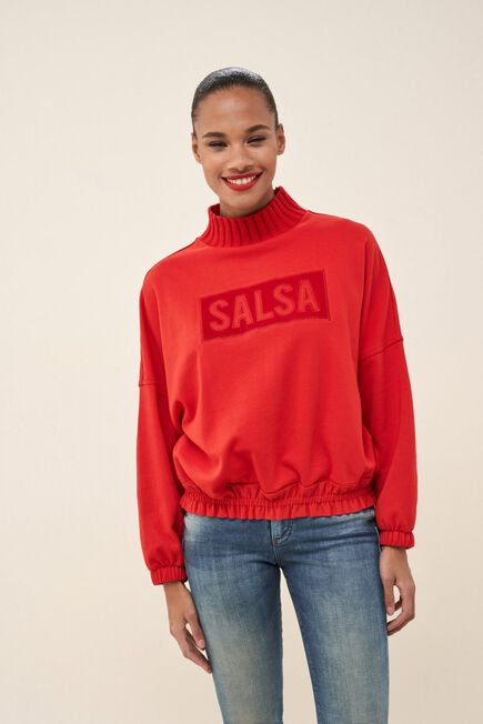 Salsa Jeans - Red Sweater With Logo