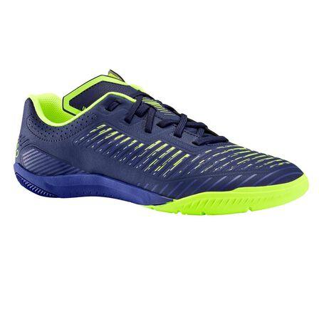 IMVISO - EU 41  Kids' Futsal Shoes Ginka 500, Navy Blue