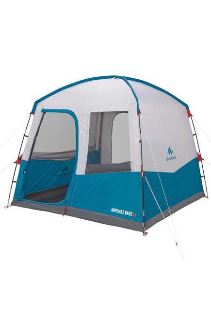 QUECHUA - Pole-Supported Camping Living Area   6-Person BASE ARPENAZ M, Unique Size