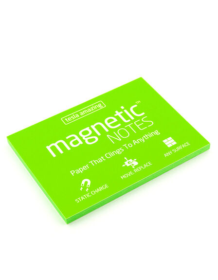 MAGNETIC STICKY NOTES - Magnetic Notes Green M