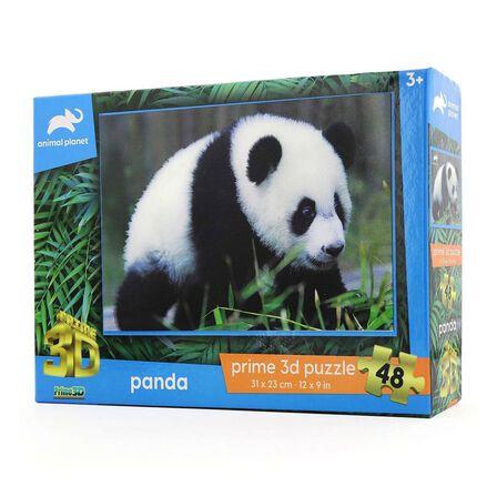 PRIME 3D - Prime 3D Animal Planet Panda 48 Pcs 3D Jigsaw Puzzle