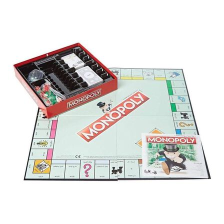 HASBRO - Hasbro Classic Monopoly Arabic
