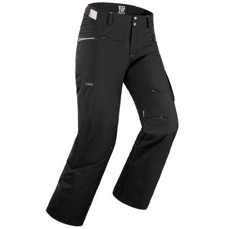 DREAMSCAPE - Large  Men Ski And Snowboard Trousers SNB TR 100-Black, Black
