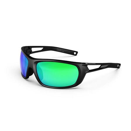 QUECHUA - Unique Size  Adult hiking sunglasses MH580 – Category 4, Black