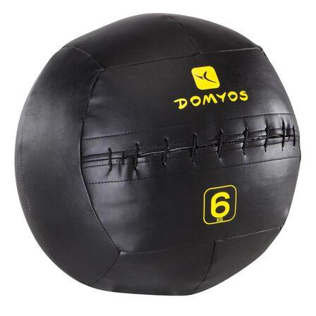 DOMYOS - 6 Kg Wall Ball - Black