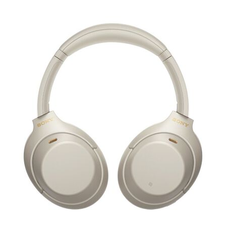 SONY - Sony WH-1000XM4 Silver On-Ear Bluetooth Headphone with Noise Cancellation
