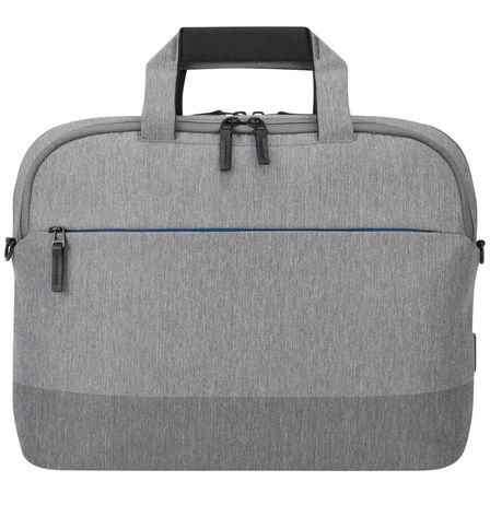 TARGUS - Targus CityLite Shoulder Bag Grey Fits Laptop up to 15.6 Inch