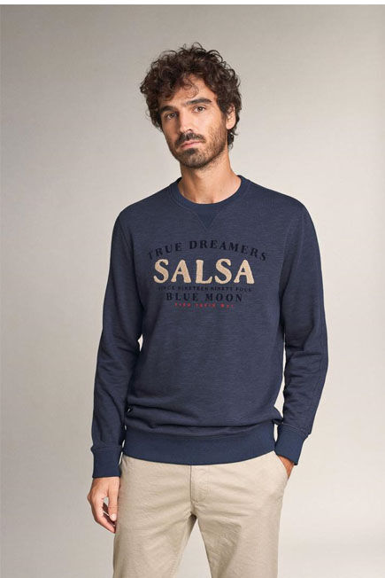 Salsa Jeans - Blue Salsa branded sweater