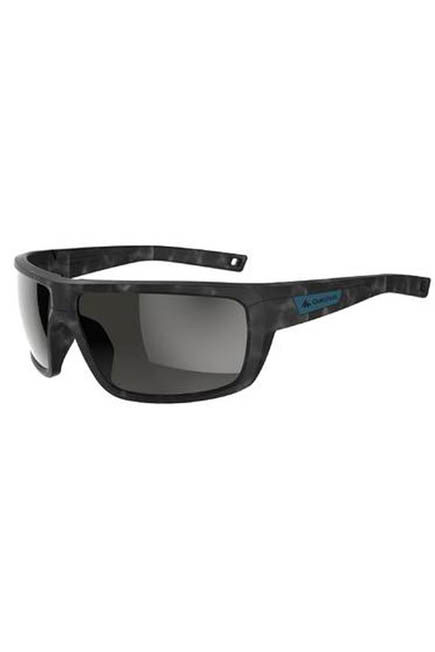 QUECHUA - Adult hiking sunglasses category 3 polarised mh530 - grey, Unique Size